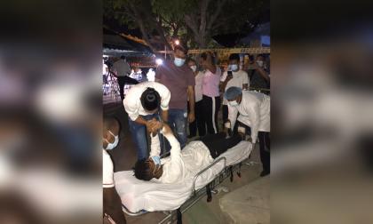 Tres jóvenes abandonan la huelga de hambre en La Guajira