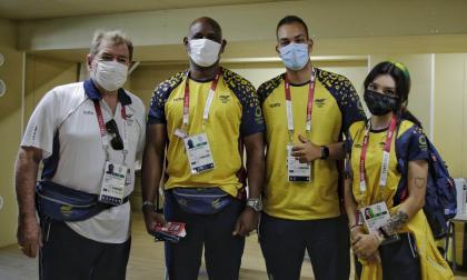 Primeros atletas colombianos ingresan a la Villa Olímpica de Tokio
