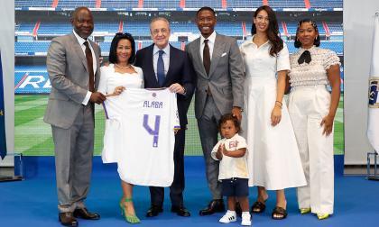 """""""Espero lograr muchos éxitos"""", las primeras palabras de Alaba en el Madrid"""