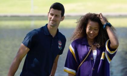 Djokovic y Osaka se imponen retos máximos ayudados por un rosario de bajas
