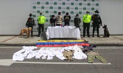 Policía captura a 134 integrantes de la llamada primera línea