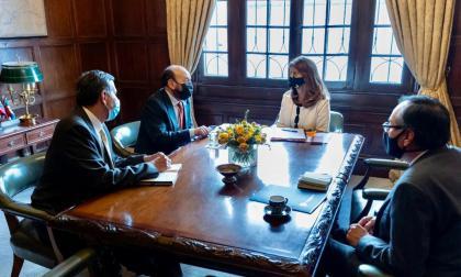 cancillería llama a consultas al embajador de Colombia en Nicaragua