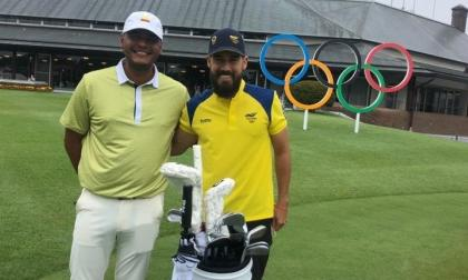 Sebastián Muñoz, octavo en primera jornada del golf olímpico