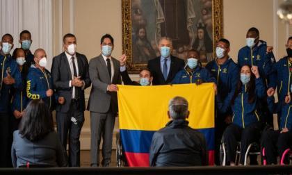 Colombia abandera delegación de 69 atletas a los Juegos Paralímpicos de Tokio