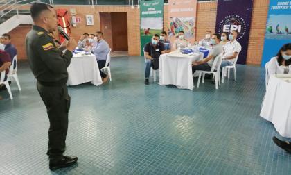 Sucre le aporta al fortalecimiento policial