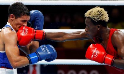 Ceiber Ávila cayó ante el ghanés Samuel Takyi y se despide de Tokio 2020