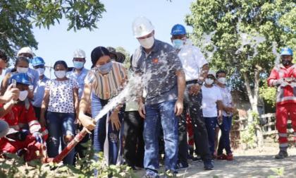 La zona corregimental de Sincelejo ya tiene agua potable