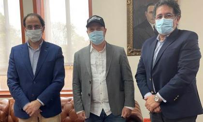 Gobernador de Sucre presenta ante Minhacieda el proyecto de la Gran Mojana