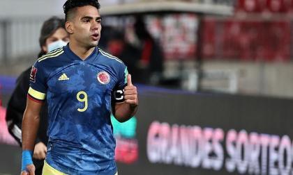 Falcao felicita a cada uno de los deportistas colombianos en los olímpicos