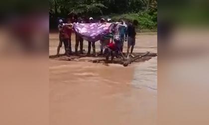 Campesinos en la zona rural de Tierralta piden un puente