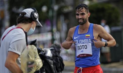 Esteban Soto el mejor de los marchistas en los 20 km de Tokio 2020