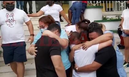 Rescatan a tres trabajadores de la salud secuestrados en Juan Mina
