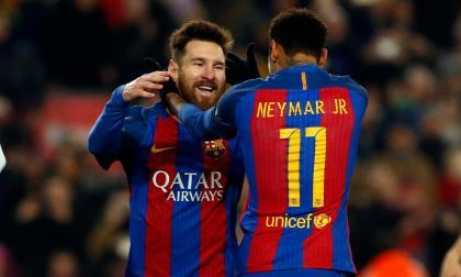 """Neymar da la bienvenida a Messi: """"Juntos de nuevo"""""""