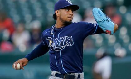 Luis Patiño volvió a ser abridor con los Rays de Tampa