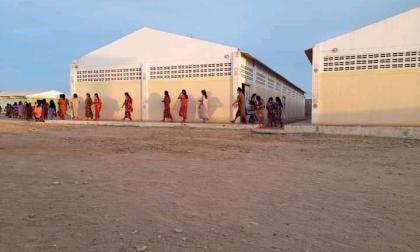 Brote de covid-19 en internado indígena de la Alta Guajira