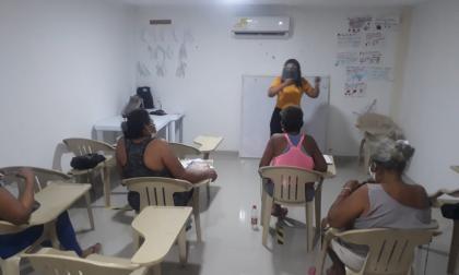 Regresan las clases presenciales a la Cárcel Distrital de Cartagena