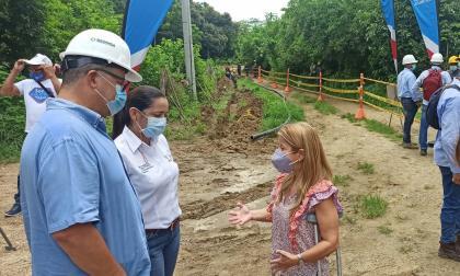 Con inversión por $2.331 millones, gobernación inicia obras para acueducto en Sibarco