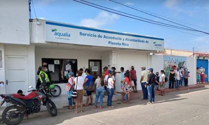 Disparan contra las oficinas de empresa de acueducto en Planeta Rica