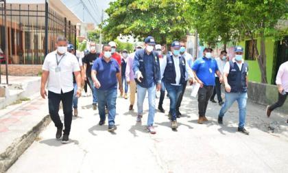 7.627 metros cuadrados de malla vial serán intervenidos en Hipódromo y Santa Inés de Soledad