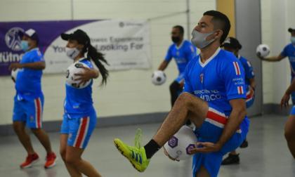 Indeportes concluye con éxito curso de actividad física