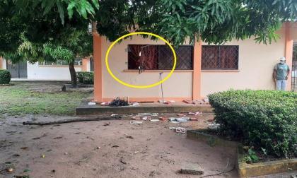 Reportan robo en el colegio de Santiago Apóstol, Sucre