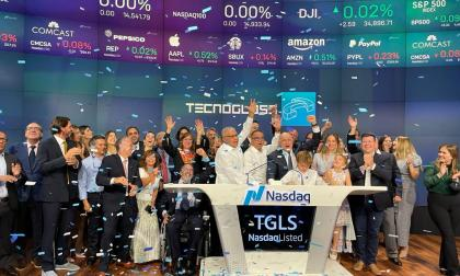 Tecnoglass tocará la campana de Nasdaq en apertura del mercado