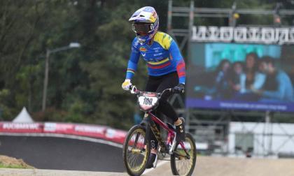 Mariana Pajón fue cuarta en el Mundial de BMX
