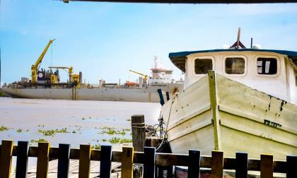 Draga Bartolomeu Dias inicia recorrido hacia Barranquilla