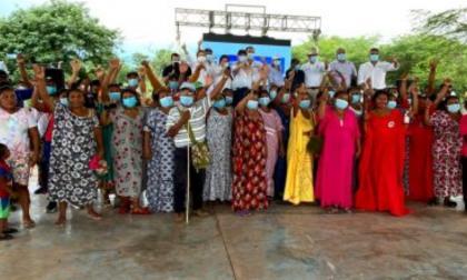 Entregan viviendas a familias wayuu restituidas en La Guajira
