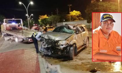 Exdirector de Movilidad de Santa Marta herido en accidente de tránsito