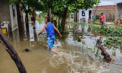 Más de 1.000 familias fueron afectadas por lluvia del lunes