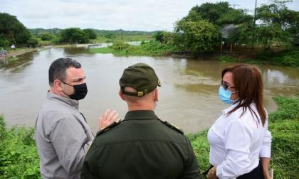Gobernación y CRA inspecciona compuertas de Embalse del Guájaro