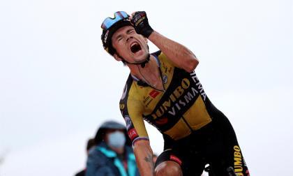 Primoz Roglic se impuso en la etapa 17 de la Vuelta a España