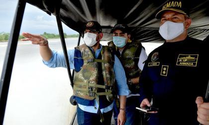 Construirán obra de contención en zona afectada de San Jacinto del Cauca