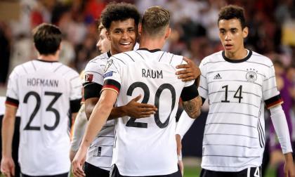 Alemania goleó a Armenia y respira en la Eliminatoria Europea