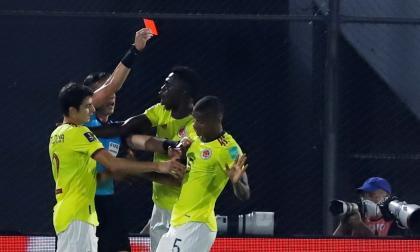 El VAR dio una mano a Colombia en el partido ante Paraguay