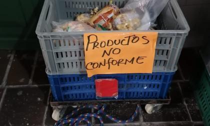 Suspenden entrega de PAE en colegio de Cartagena por mal estado de productos