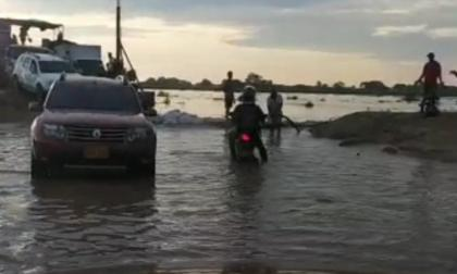 Puerto del ferry se inundó en la zona del Atlántico