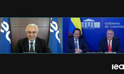 Colombia comenzó proceso de adhesión a la Agencia Internacional de Energía