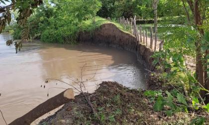 Erosión crece en Salamina y arrecian los reclamos contra Cormagdalena