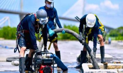 Otro equipo apoyará remoción de material en bocatoma del acueducto