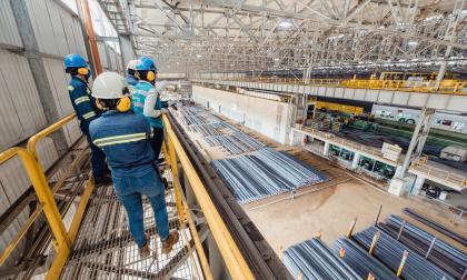 Ternium produjo en su planta en Atlántico 186 mil toneladas de acero