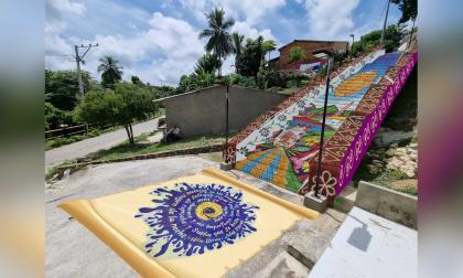 Gobernadora Noguera inspeccionó obras de tres proyectos turísticos en Usiacurí