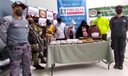 Autoridades desarticulan banda 'la Hermandad' en el Atlántico