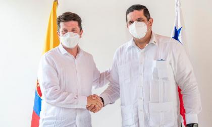 Colombia y Panamá acuerdan fortalecer la seguridad en la frontera