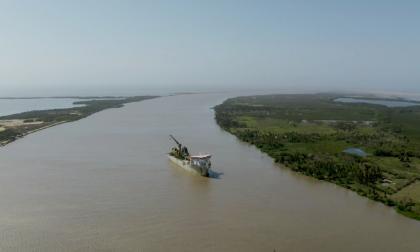 Se dragarán 72 mil metros cúbicos adicionales en la Zona Portuaria de Barranquilla