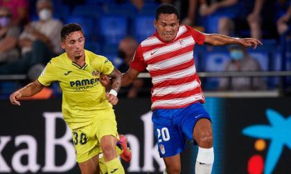 """""""Quiero ayudar lo máximo al Granada con trabajo, asistencias y goles"""": Bacca"""