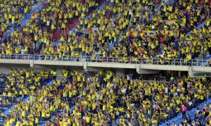Junior y la selección Colombia esperan mayor aforo en el Metropolitano