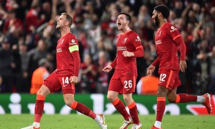 El Liverpool evita un incendio en Anfield