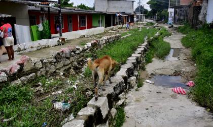 Lluvias generan afectaciones en viviendas del barrio Santa María